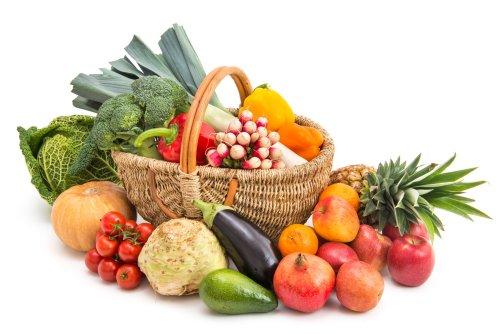 warzywa i owoce na cellulit