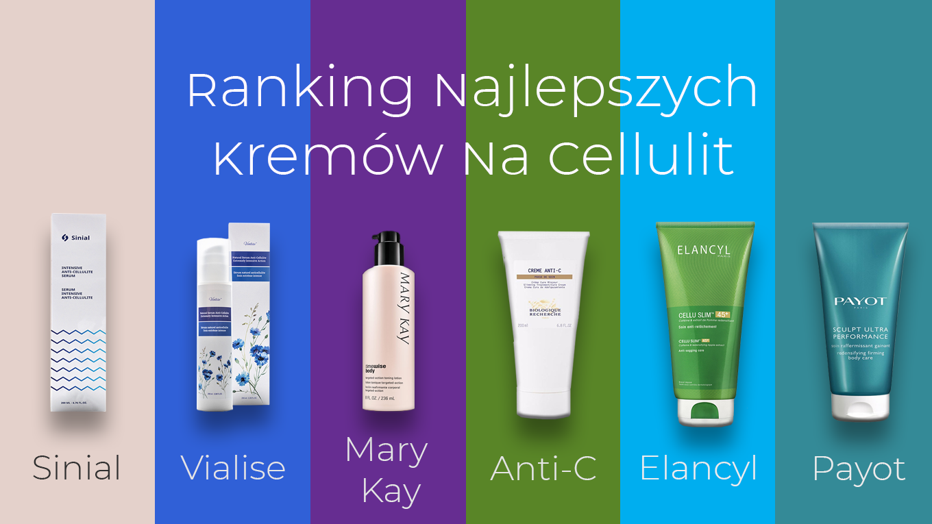 ranking kremów na cellulit