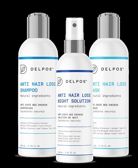 Delpos - zestaw na wypadanie włosów