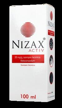 Nizax Activ Szampon leczniczy
